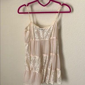 Free People Slip Dress/Blouse